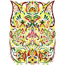 Nyári színben pompázó évszakok sorozat ornamentika Fodorinda
