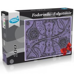 Fodorinda Folyótükör tollrajzból 100 db-os puzzle