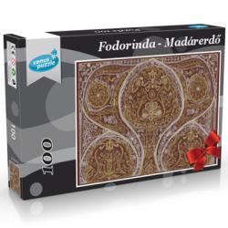Madárerdő kirakó Fodorinda tollrajzból