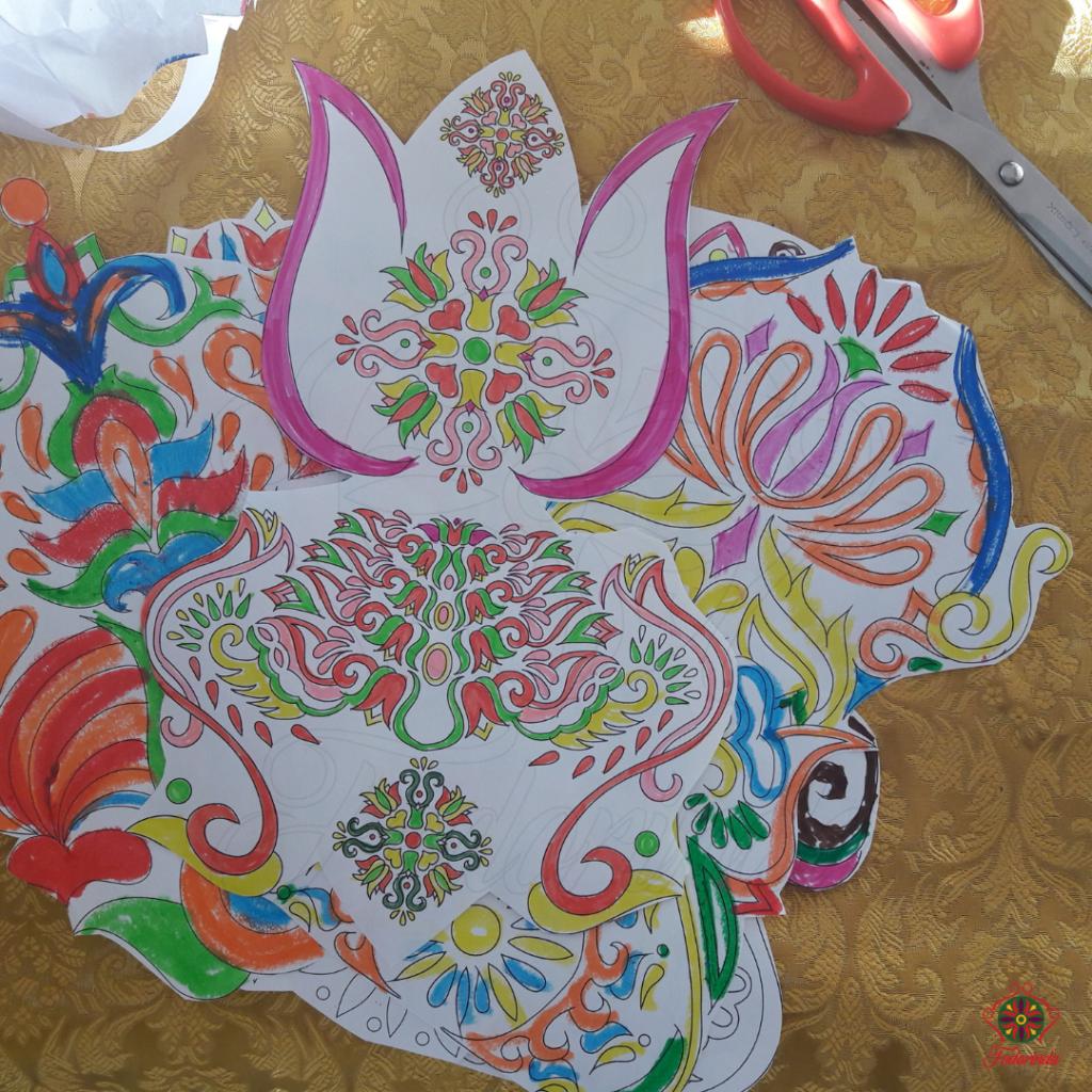 Fodorinda Színezzünk tavaszt ingyenes kifestő